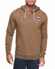 The Skate Shop - Regent Henley Pullover Fleece Hoodie