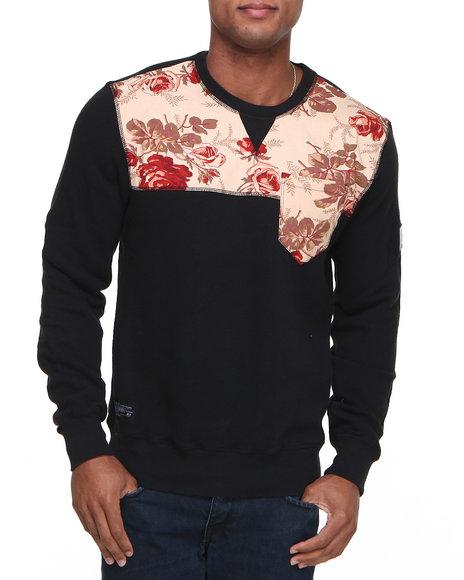 Two Angle Clothing Black Woze Sweatshirt