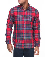 The Skate Shop - Twisted Brushed Flannel L/S Button-down