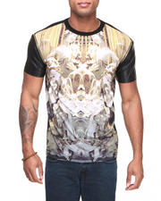 Hudson NYC - Angels Merge Zip Off Faux Leather Sleeve Tee