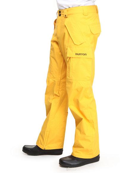 Burton Yellow Poacher Dryride Pants