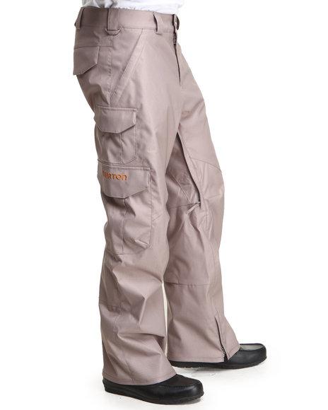 Burton Light Brown Cargo Dryride Pants