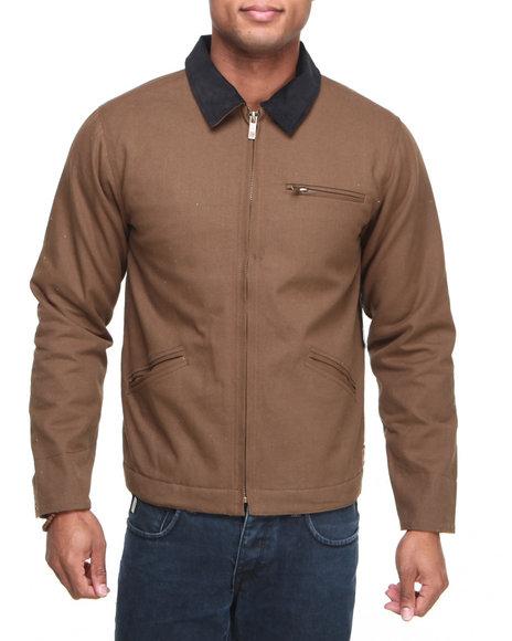 Brixton Brown Sierra Workwear Duck Jacket