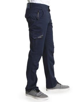 Darring - Slash Slim Fit Herringbone Twill Pants