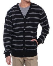 Basic Essentials - Striped Cardigan Sweater