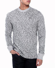 Enyce - Leopard L/S Printed Crew Thermal