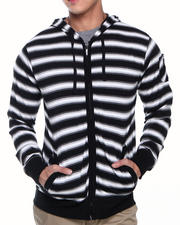 Basic Essentials - Sai Striped Hoodie