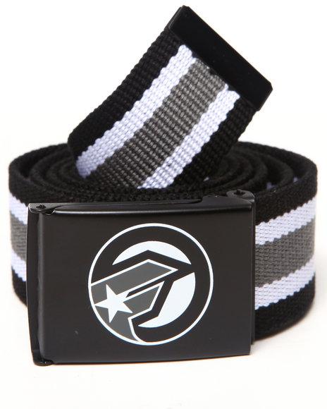 Famous Stars & Straps Falcon Web Belt Black