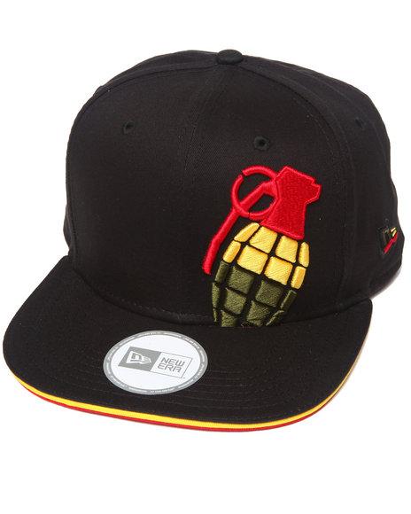 Grenade Grenade Halfer Irie New Era 9Fifty Snapback Cap Black