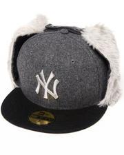 Men - New York Yankees Melton Dog Ear Hat