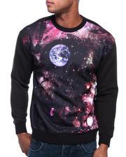 Men - Skull Space Crewneck Sweatshirt