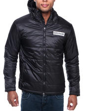 Outerwear - Standard Down Hooded Jacket