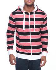 Basic Essentials - Striped Hoodie