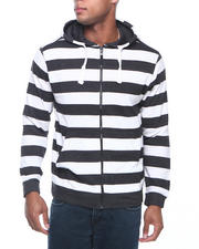 Basic Essentials - Striped Hoodie