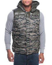Outerwear - Flint Body Block Padding Vest