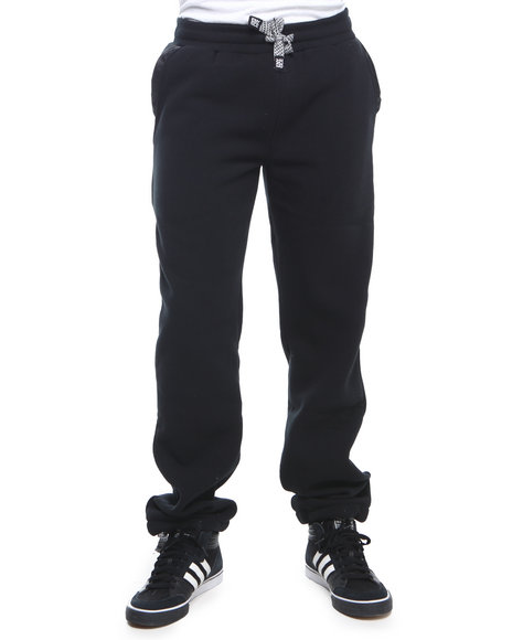 Enyce - Men Black Spartacus Fleece Sweatpants