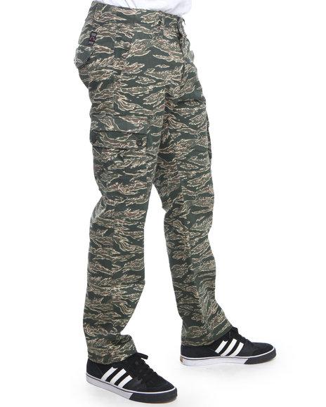 Enyce - Men Green Gung Ho Camo Cargo Pants