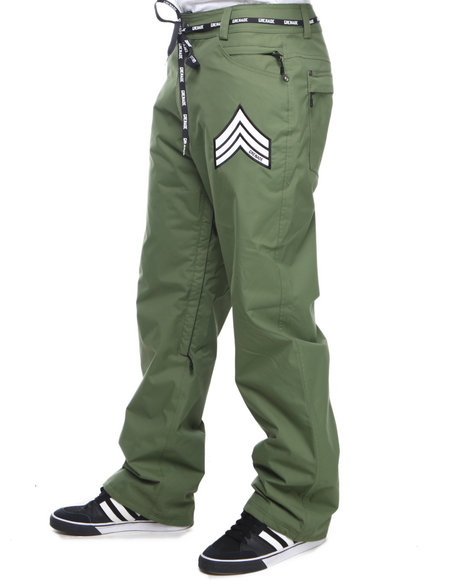 Grenade Green R.E.G. Waterproof Pants