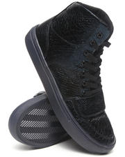 Creative Recreation - Cesario X Black Faux Snakeskin Hightop Sneaker
