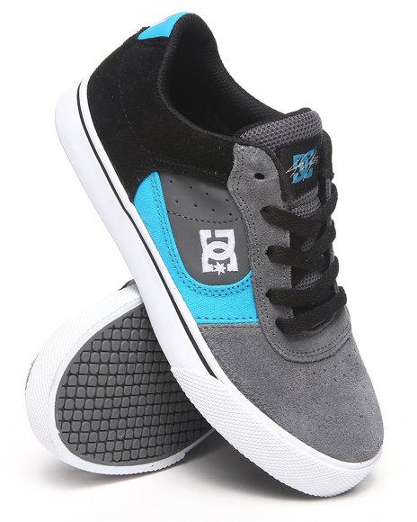 DC Shoes Boys Grey Cole Pro Sneaker (1-7)
