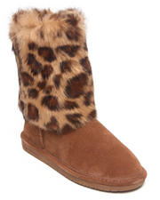 "Footwear - Keely Rabbit Fur Animal Print 9"" Boot"