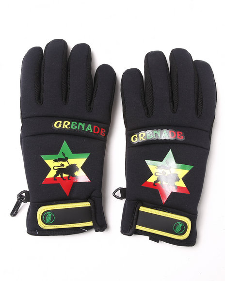 Grenade - Men Black Bob Gnarley Gloves