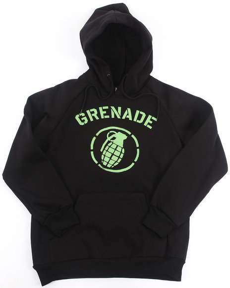 Grenade - Boys Black Stadium Hoody (8-20)