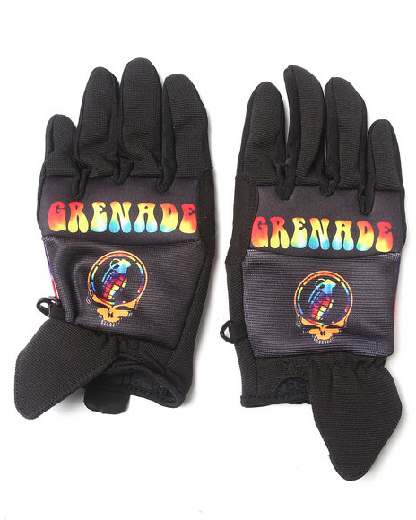 Grenade - Men Black Grateful Shred Cc935 Gloves