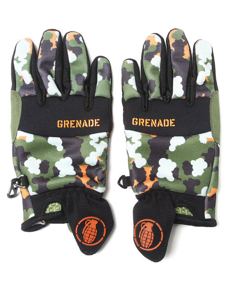 Grenade - Men Camo Trooper Cc935 Gloves