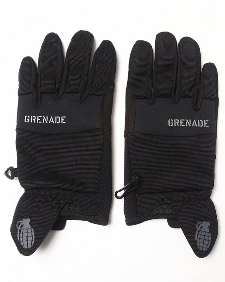 Grenade - Men Black Murdered Out Cc935 Gloves