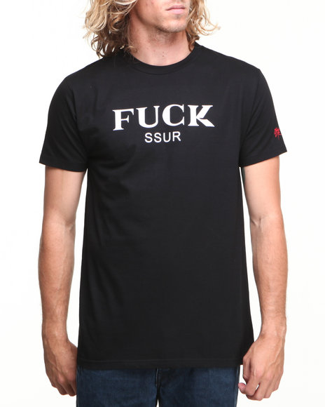 Ssur - Men Black Fuck You Tee