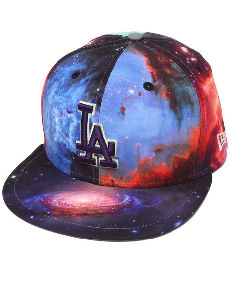 New Era Multi Los Angeles Dodgers Galaxy 5950 Fitted Hat