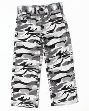 Bottoms - CAMO TWILL PANTS (4-7)