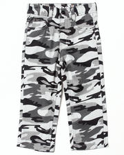 Bottoms - CAMO TWILL PANTS (2T-4T)