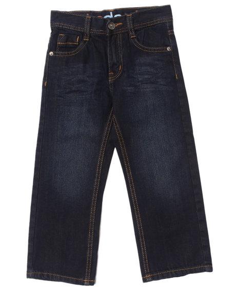 Akademiks Boys Vintage Wash Embroidered Flap Pocket Jeans (4-7)