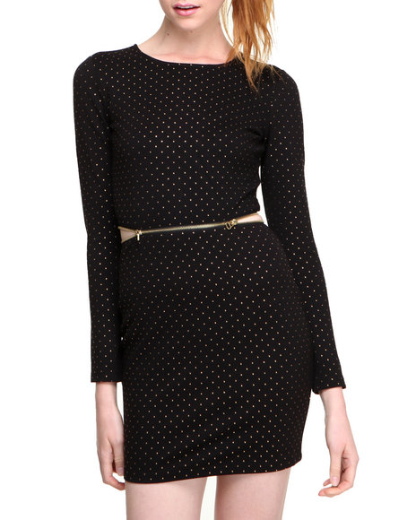 Dv By Dolce Vita - Women Black Bing Dress