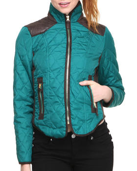 Fashion Lab - Qulited Puffer Jacket