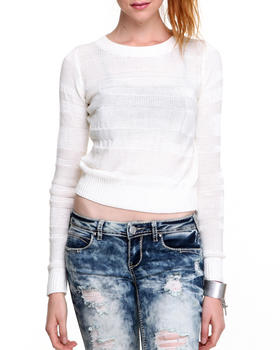 Basic Essentials - Cropped Pullover Longsleeve Knit