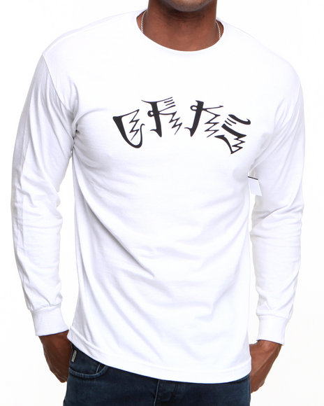 Crooks & Castles White Anti-Social L/S T-Shirt