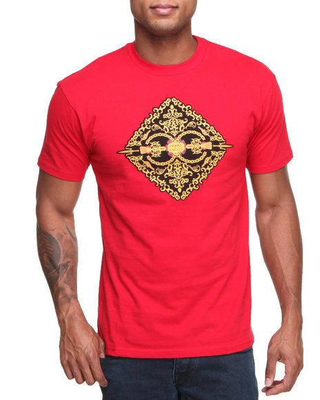 Crooks & Castles Red Sultan T-Shirt
