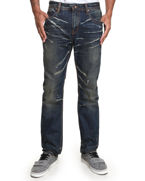 AKOO Dark Blue Street Soldier Jeans