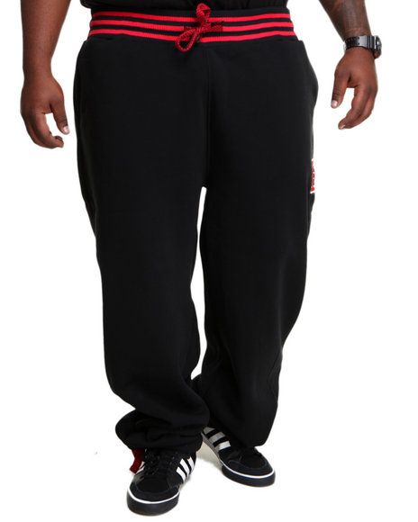 Enyce - Men Black Gotham Fleece Sweatpants (B&T)