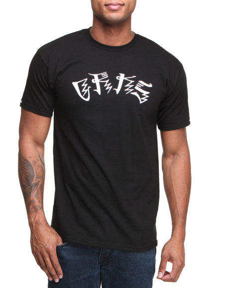 Crooks & Castles - Men Black Anti-Social T-Shirt