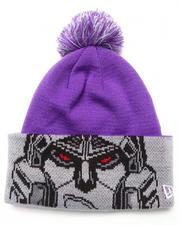 Men - Decepticons Hasbro Hero Major Cuff Knit Hat