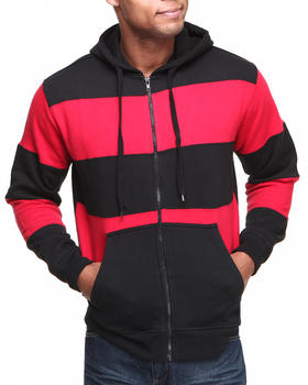 Basic Essentials - Large Stripe Hoodie