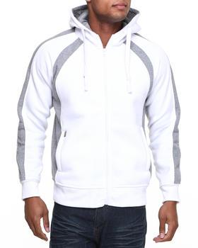 Basic Essentials - Thermal Inset Hoodie with Raglan Sleeves