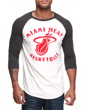 Men - Miami Heat Rebound Raglan Shirt