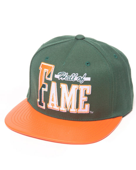 Hall Of Fame Atlanta Snapback Cap Green