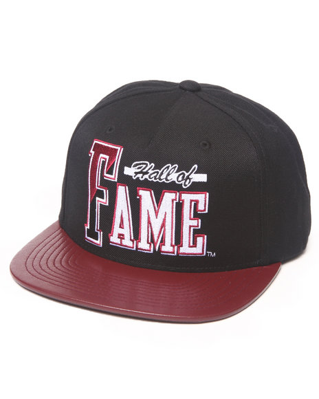 Hall Of Fame Atlanta Snapback Cap Black