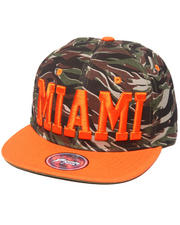 Cyber Monday Shop - Men - Miami Tiger Camo City Snapback
